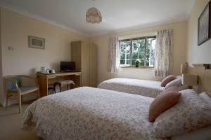 Woodland View Twin room with en suite
